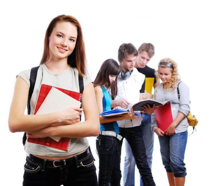 étudiants boursiers