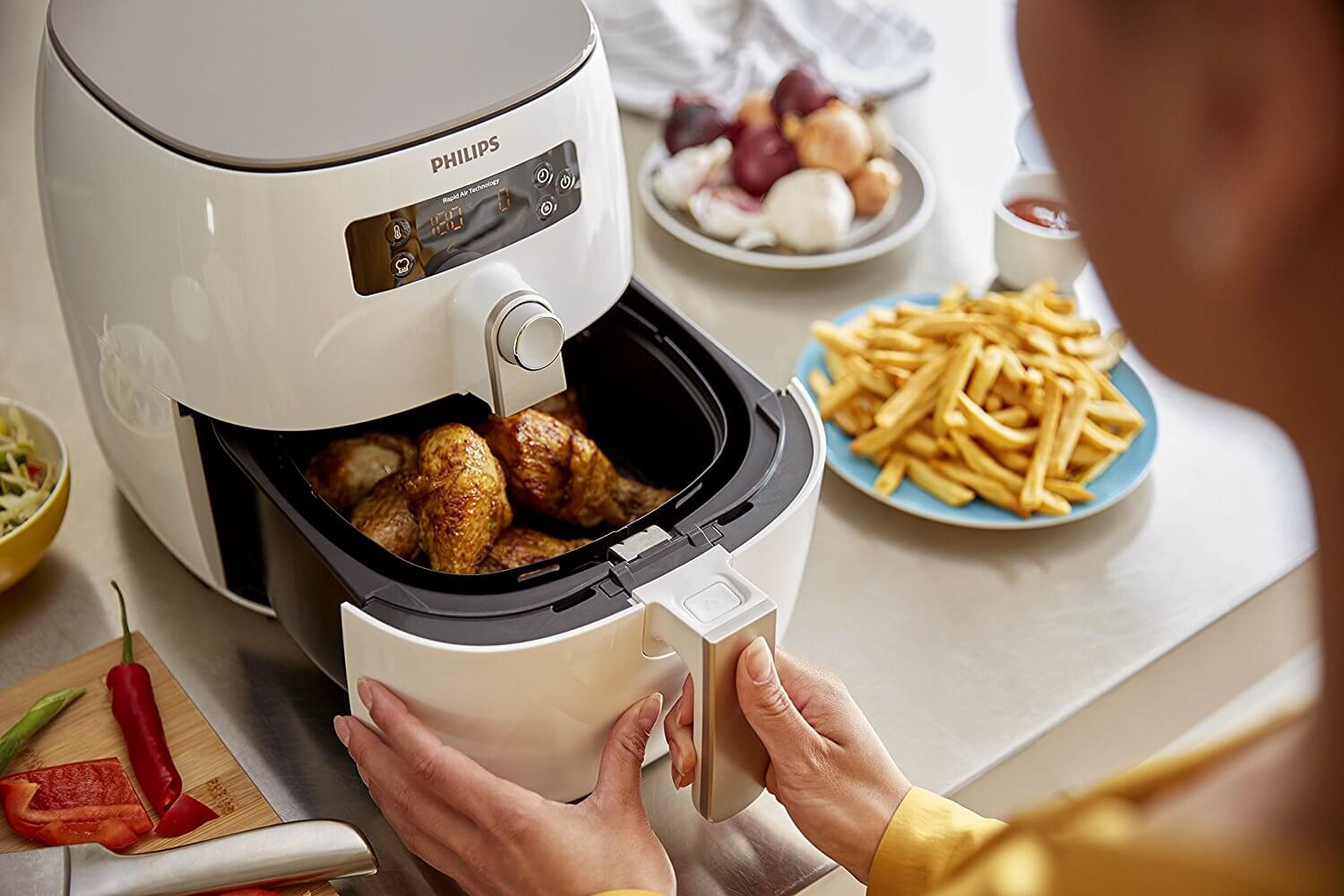 Philips HD9642-90 poulets frites