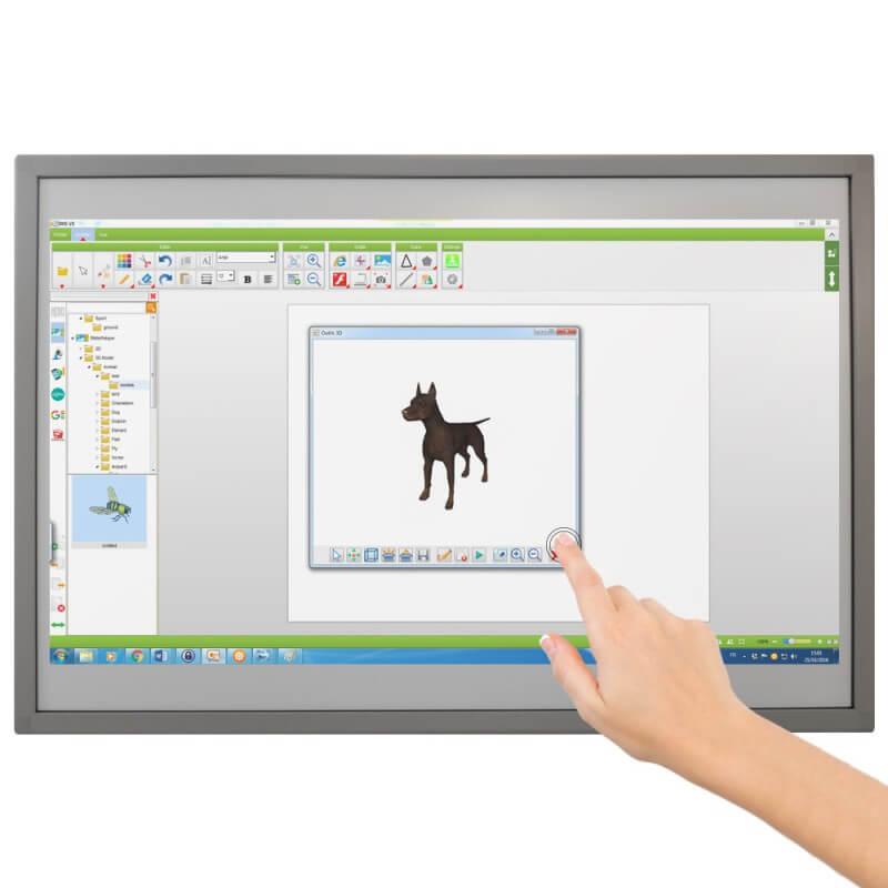 Tableau blanc interactif tactile fixe Speechi