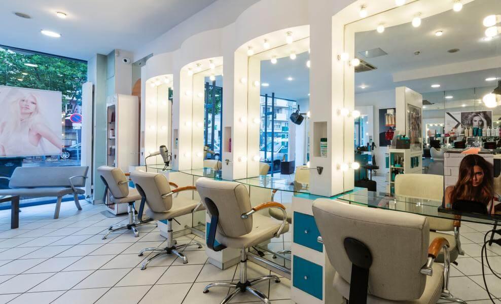 Les salons de coiffure
