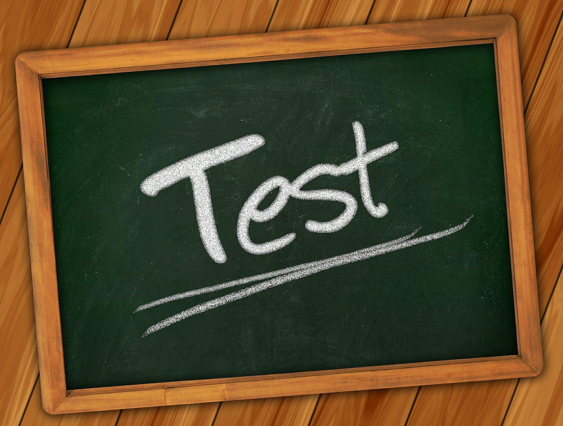 passer un test